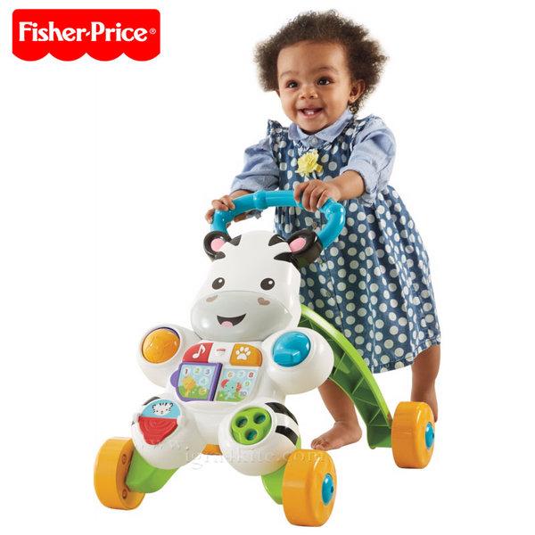 Fisher Price - Играчка за прохождане Зебра dlf00/dld80