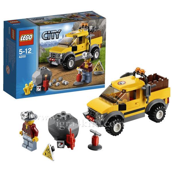 Lego 4200 City - Миньорски камион 4х4