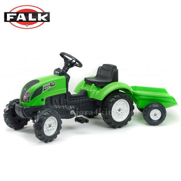 Falk - Детски трактор с ремарке Garden Master 2057j