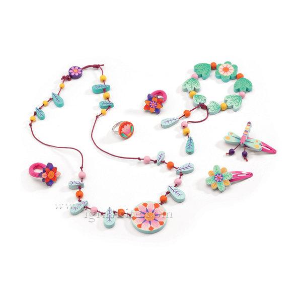 Djeco - Бижута Flower paradise jewels 06572
