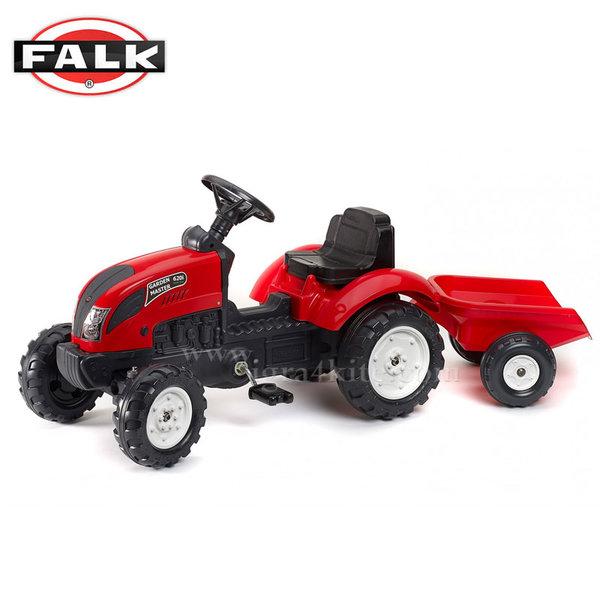 Falk - Детски трактор с ремарке Garden Master 2058j