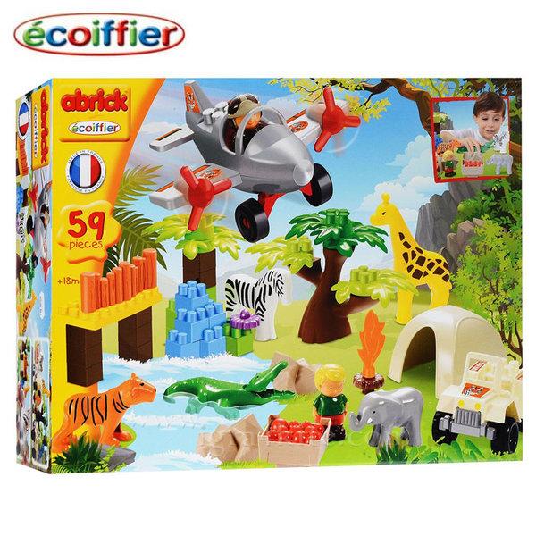 Ecoiffier - Детски строител Сафари 3073