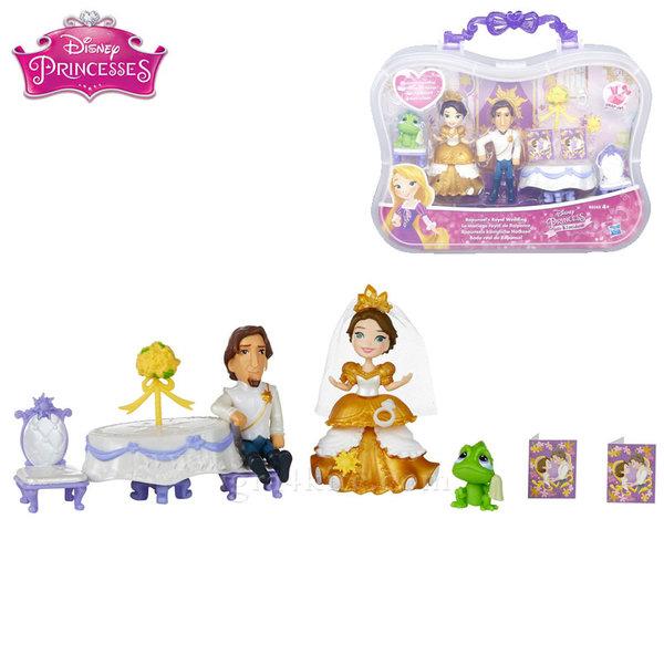 Disney Princess - Мини кукла Рапунцел с принц и аксесоари b5341