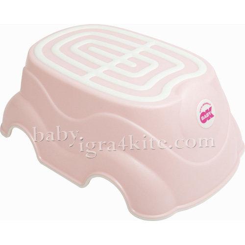 Ok Baby Стъпало за баня HERBIE 820-54 розово