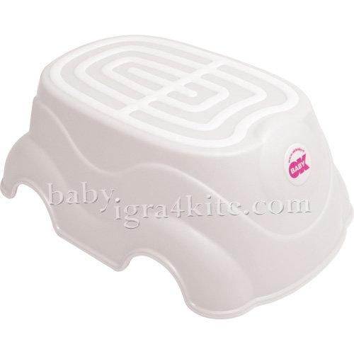 Ok Baby Стъпало за баня HERBIE 820-68 бяло