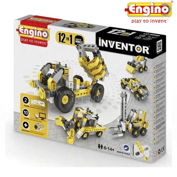 Engino - Конструктор 12 модела Индустриална Техника 1234