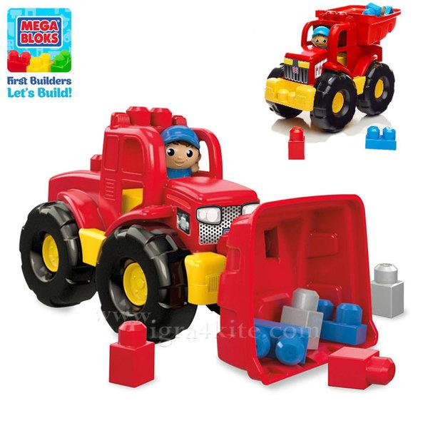 Fisher Price Mega Bloks - Камион със строителна блокчета dpp73