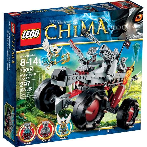 Lego 70004 Chima - Преследвача на Уакз
