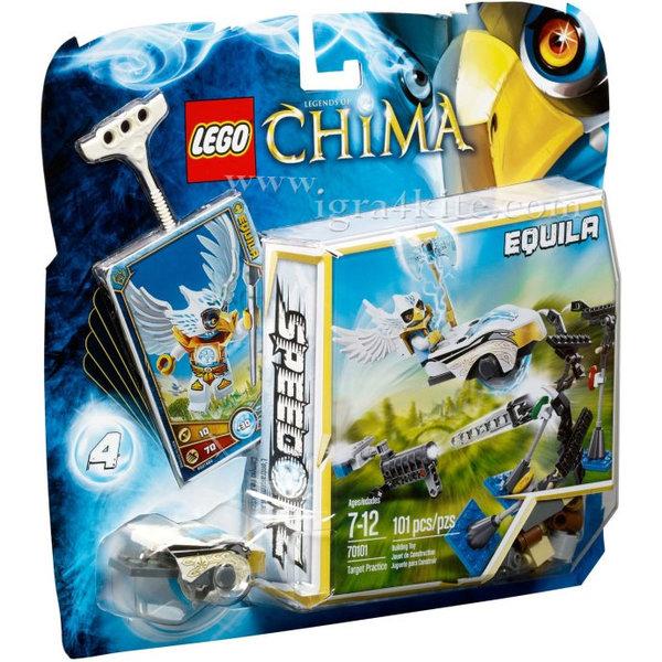 Lego 70101 Chima - Тренировка с мишени