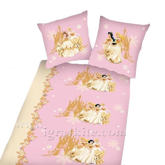 Herding - Детски спален комплект Принцеси 2 части