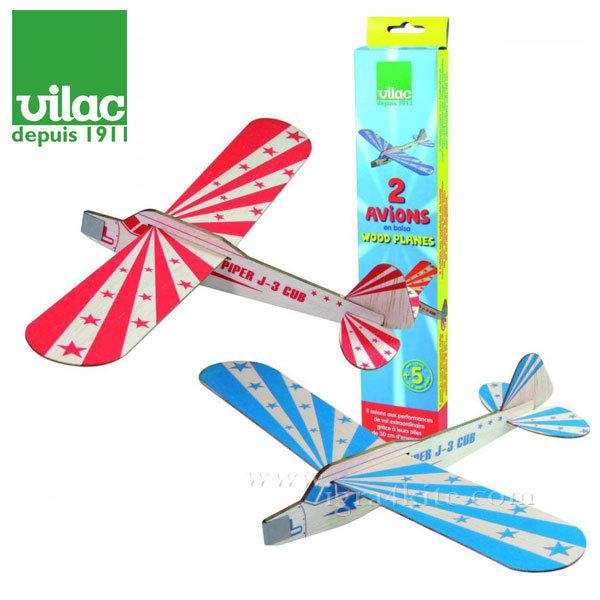 Vilac - Дървени самолетчета комплект 2бр. 3210