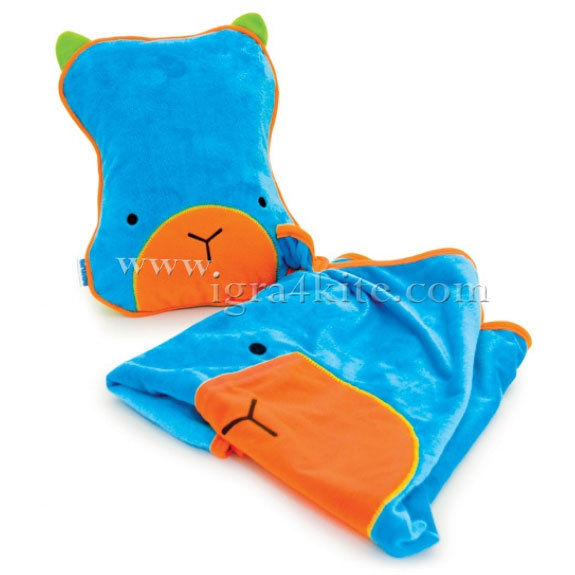 Trunki - Възглавница и одеало за път Поспаланковци Blue