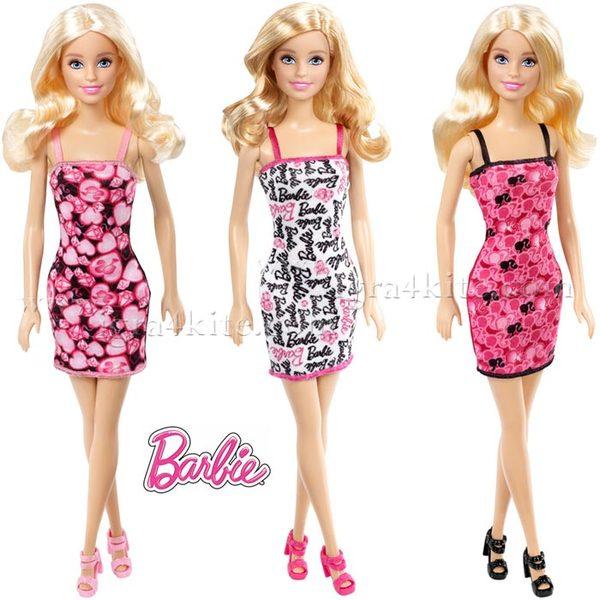 Barbie - Кукла Барби в модна рокля T7439