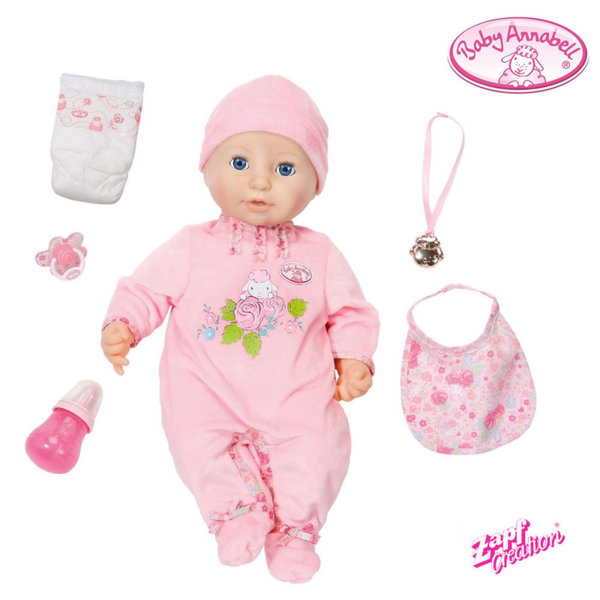 Zapf Creation - Baby Annabell Интерактивна кула Бейби Анабел 46см 794401