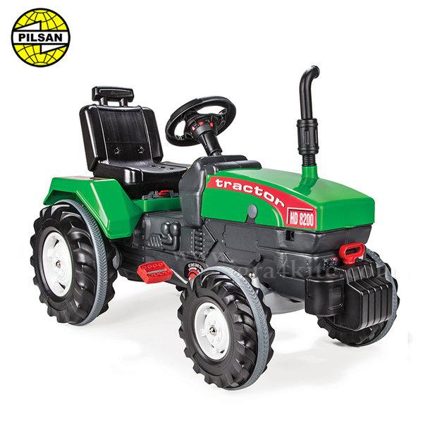 Pilsan - Детски трактор с педали 07294 Green
