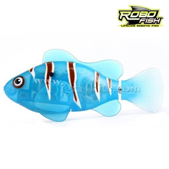 Zuru Robofish - Робофиш Робо риба клоун в синьо
