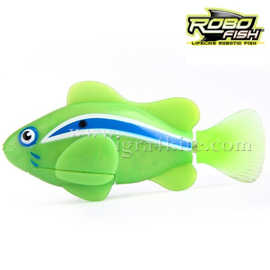 Zuru Robofish - Робофиш Робо риба клоун в зелено