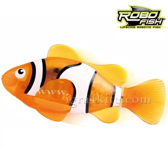 Zuru Robofish - Робофиш Робо риба клоун в оранжево