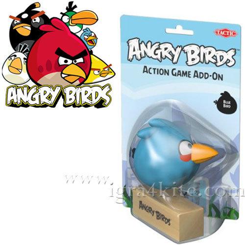 ANGRY BIRDS - Допълнителна фигурка Синьото пиле Енгри бърдс