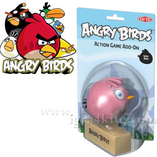 ANGRY BIRDS - Допълнителна фигурка Момичето Енгри бърдс