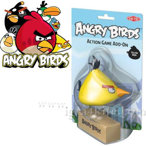 ANGRY BIRDS - Допълнителна фигурка Жълтото пиле Енгри бърдс