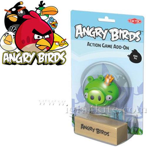 ANGRY BIRDS - Допълнителна фигурка Прасето крал Енгри бърдс