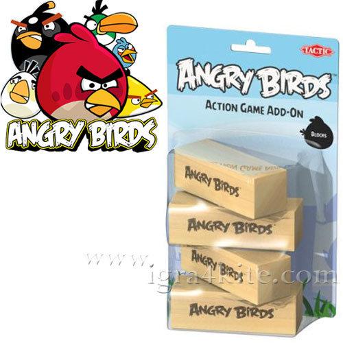 ANGRY BIRDS - Допълнителни блокчета Енгри бърдс