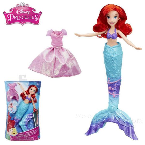 Disney Princess - Кукла Ариел в комплект с опашка на русалка и рокля b9145