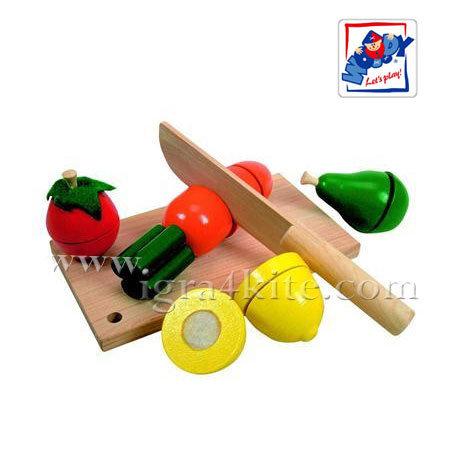 Woody - Дъска за рязане с плодове и зеленчуци 90081