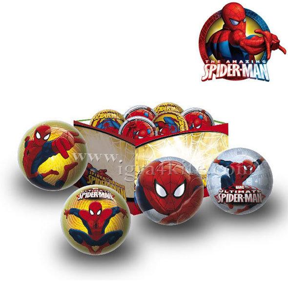 Unice - Детска топка за игра Spiderman 132000