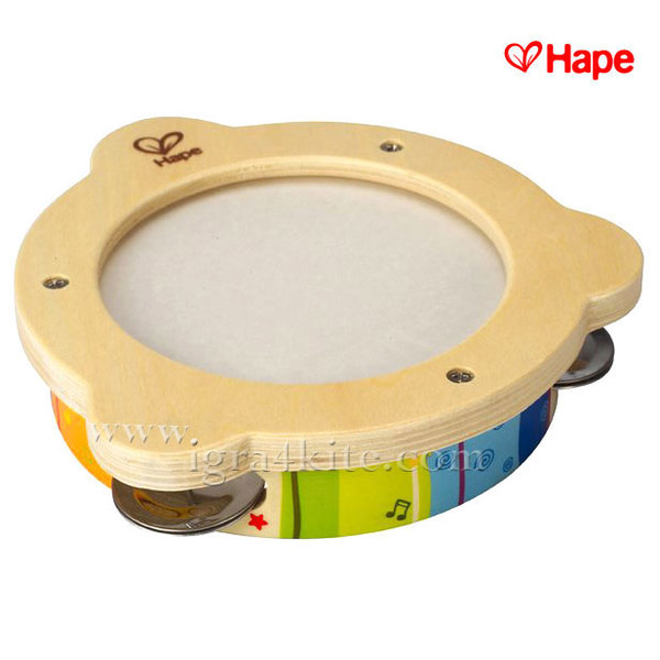 Hape - Дървено детско дайре E0304A