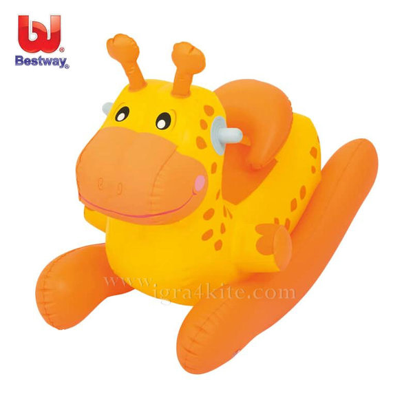 Bestway - Надуваема люлка Жираф 52220