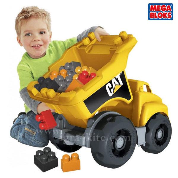 Mega Bloks CAT - Голям камион със строителни блокчета DCJ86