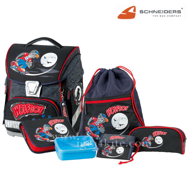 Schneiders - Ученическа ергономична раница комплект 6 части 616898
