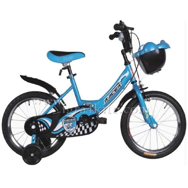 """Moni - Детски велосипед 16"""" 1682 син 100999"""