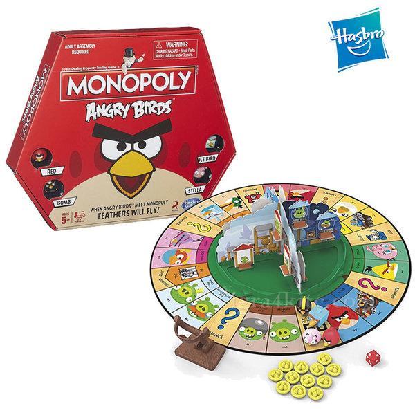 Hasbro Monopoly - Монополи Angry Birds a9342