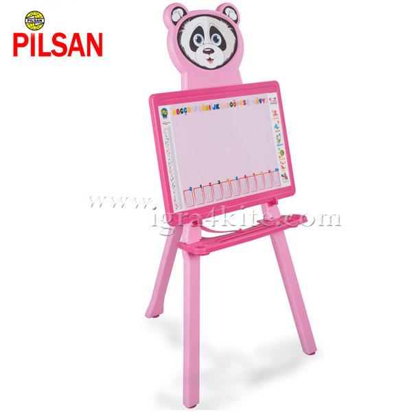 Pilsan - Дъска за рисуване Панда Розова 03418
