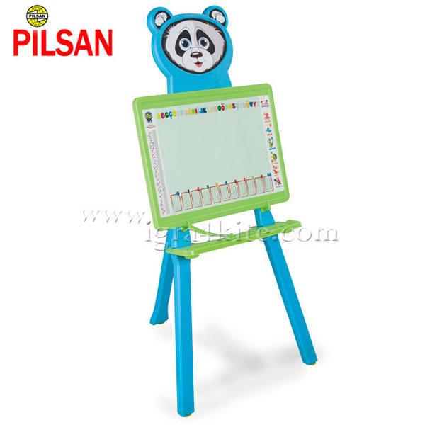 Pilsan - Дъска за рисуване Панда Синя 03418