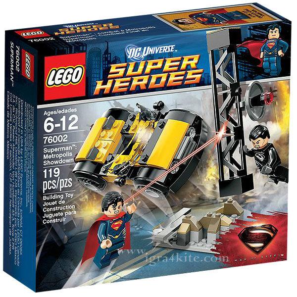 Lego 76002 Super Heroes - Супермен Градска конфронтация