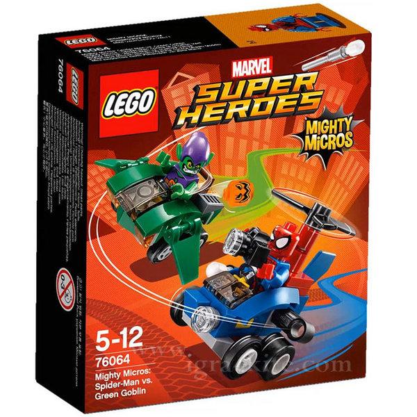 Lego 76064 Super Heroes - Спайдърмен срещу Зеления Гоблин