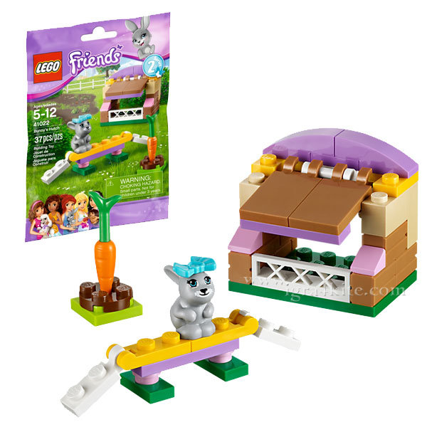 Lego 41022 Friends - Колибката на зайчето