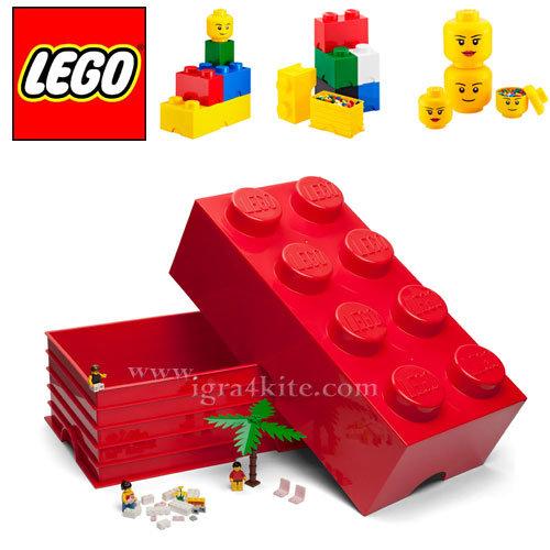 Lego 40041730 Аксесоари - Кутия за съхранение 2x4