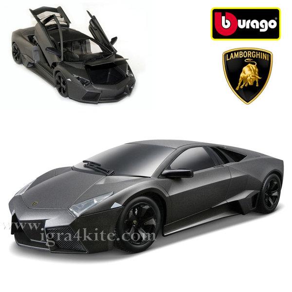 Bburago - Кола 1:18 Lamborghini Reventon Black 18-11029