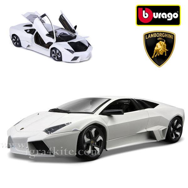 Bburago - Кола 1:18 Lamborghini Reventon White 18-11029