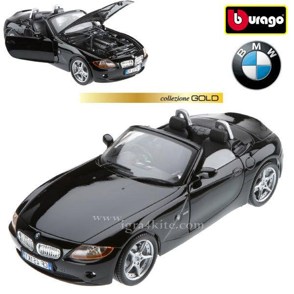 Bburago - Кола 1:18 BMW Z4 Black 18-12001