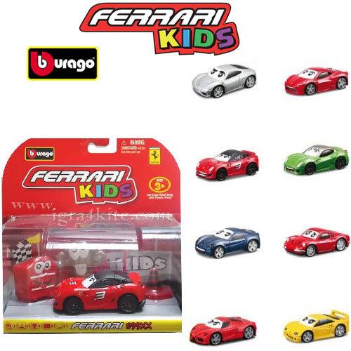 Bburago - Ferrari Kids Метална количка Ферари 31250