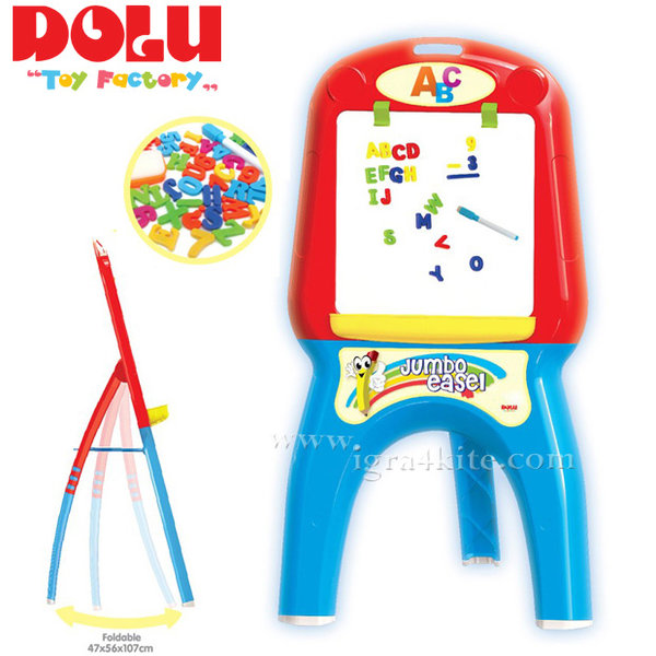 Dolu - Дъска за писане + магнитни букви 7062