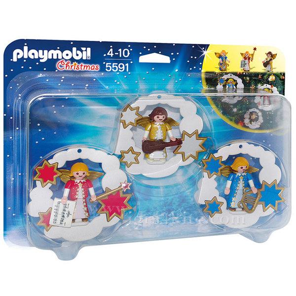 Playmobil - Коледни ангелчета 5591