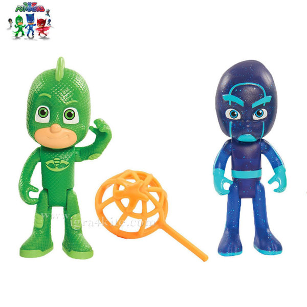 PJ Masks - Фигури Gekko и Night Ninja 19000