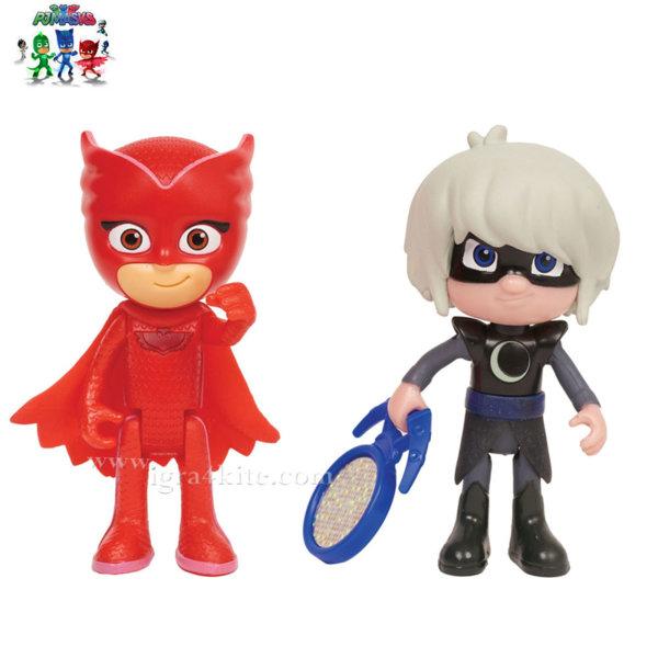 PJ Masks - Фигури Owlette и Lunna Girl 19000